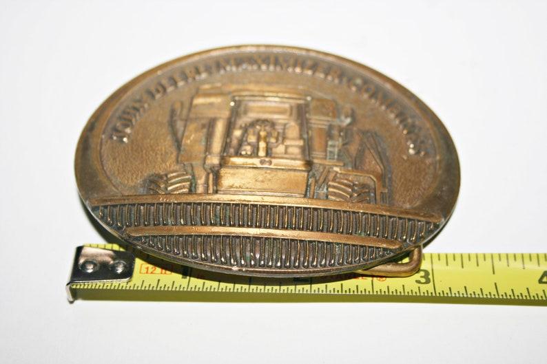 Vintage Limited Edition John Deere Maximizer Combines Belt Buckle