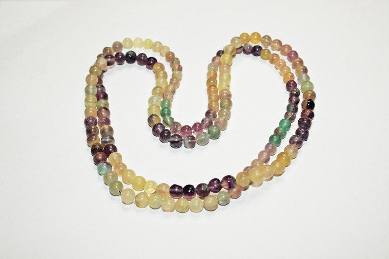 Vintage Beaded Fluorite Necklace