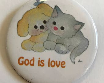 God is Love Puppy and Kitty