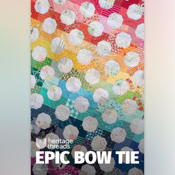 Epic Bow Tie Quilt Pattern Etsy