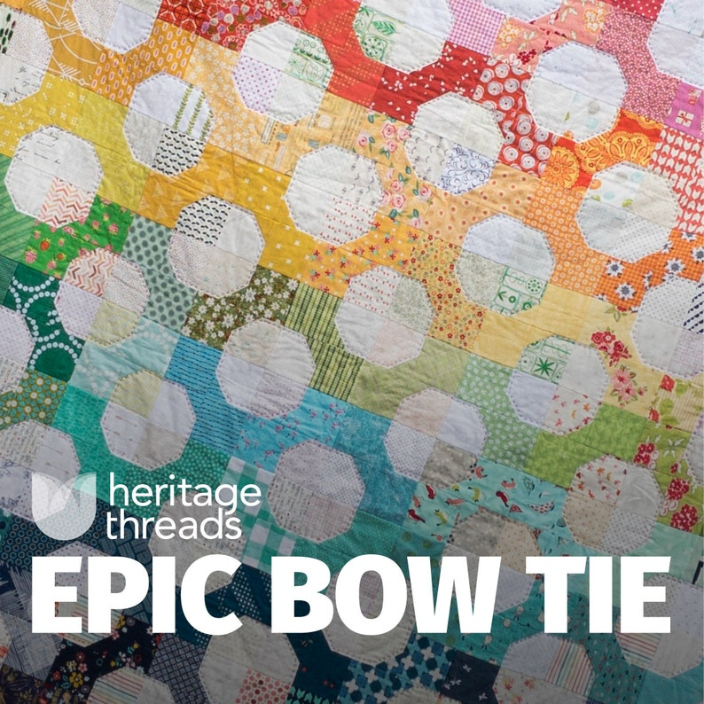 Epic Bow Tie Quilt Pattern image 0
