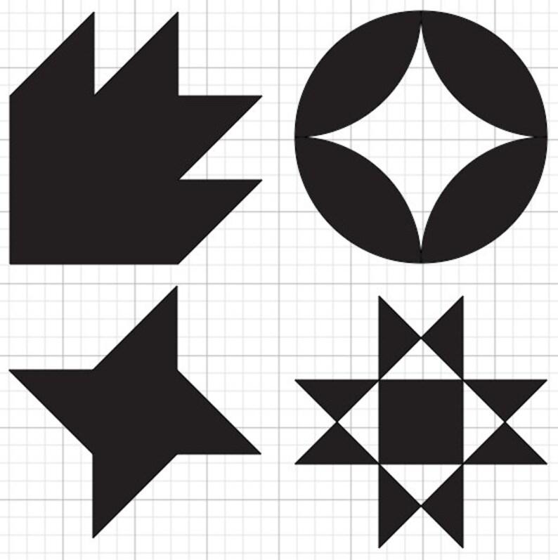 Quilt Block SVG file bundle 2 image 0