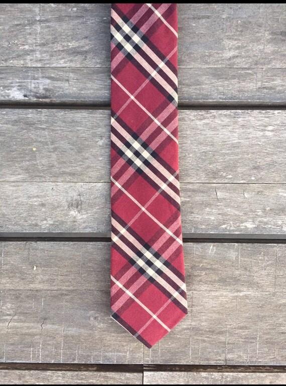 Cravate Bordeaux à carreaux   cravate de mariage   fait à la main   le marié   Idées de mariage   Col cravate   cravate Slim  