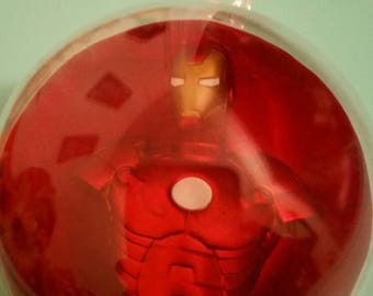 Iron Man Christmas ornament