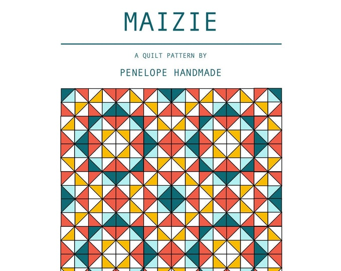 Featured listing image: Maizie Quilt Pattern