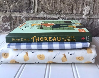 Outdoors Book and Quilt Set or Kit