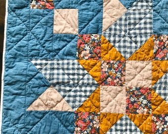 Boulted 2.0 Wall Hanging/Baby Quilt