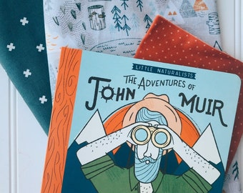 Mountain Book and Quilt Set or Kit