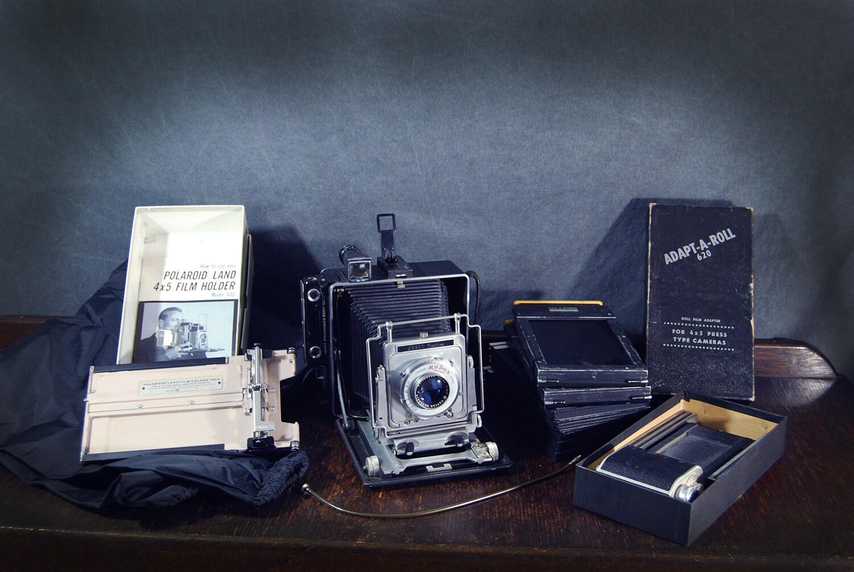 Busch Pressman 4x5 Camera Vintage Large Format Press Camera Etsy
