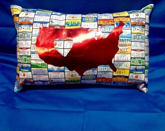 Popular Items For License Plate Pillow