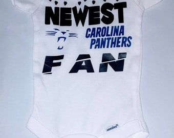 Carolina Panthers Baby Onesie 8e83657b9