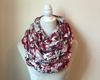 Holiday Pattern Scarf
