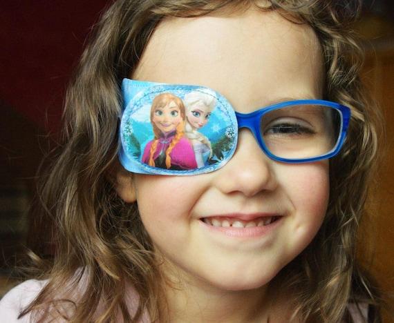Kid eye patch.