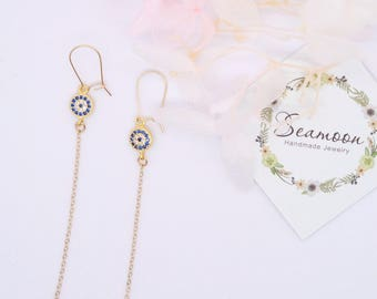 small hanging earring