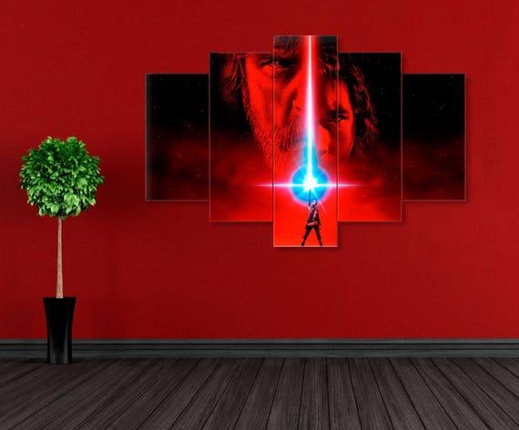 A0 A1 A2 A4 A4 Return of the Jedi Movie Large BOX CANVAS Art Print