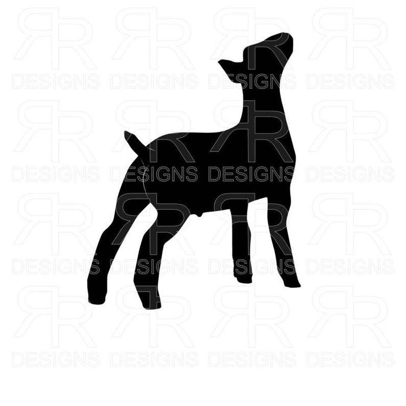 Show Wether #2 Show Goat SVG Files, Cricut, Silhouette, PDF, JPG, Boer  Wether, Boer Goat, Market Wether, Meat Goat