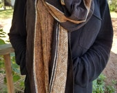 Raw Silk Scarf from Madagascar