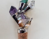 Wine Corks - Alpaca Silver and Semiprecious Stones