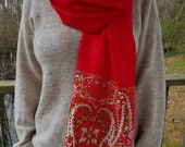 Cashmere Handbeaded Scarves from Flying Scarfs