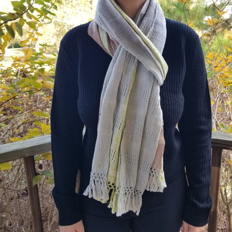 Hand Woven Scarf from Guatemala image 0