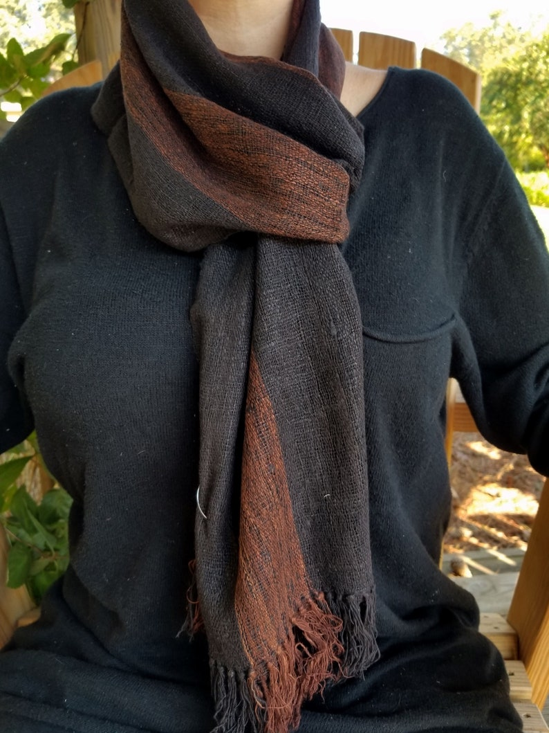 Raw Silk Scarf from Madagascar image 0