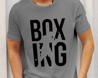 Boxing shirt, Boxing sign tee, Training t shirt, Motivation shirt
