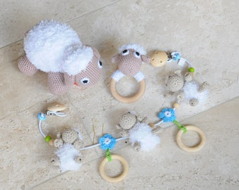 Crochet Package Set Sheep