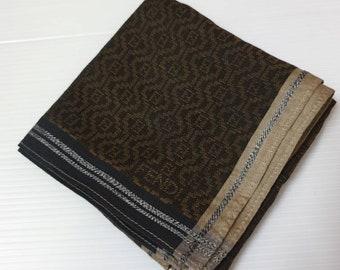 3cf7e31eac0a FREE SHIPPING Vintage 90s Fendi Hanky bandana fendi Zucca Logo Rhombus shape