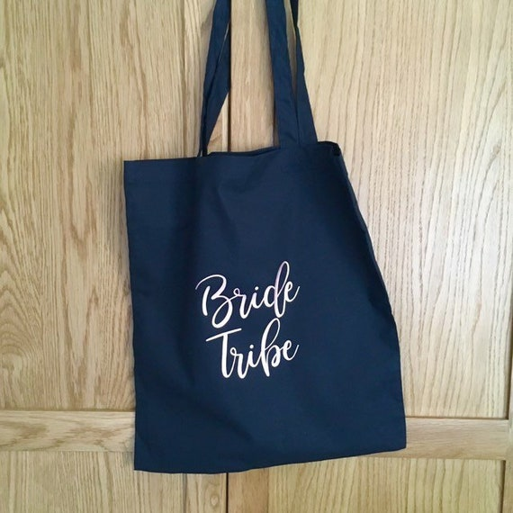 Hen Do Party Wedding Tote Bags Gift Shoulder Bag Bride To Be Tribe Keepsake 2019