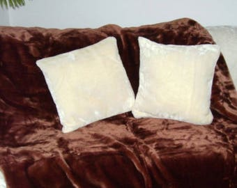 Cuddle pillow Case White gloss different sizes of your choice