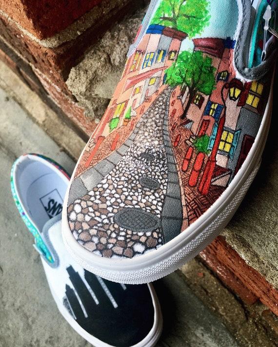 Vans Custom Shoe Design   Etsy