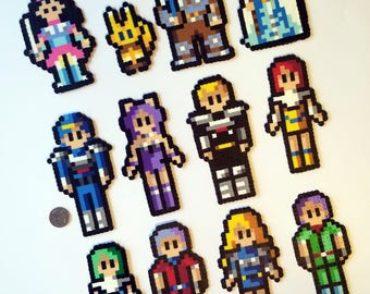 Phantasy Star Various Characters