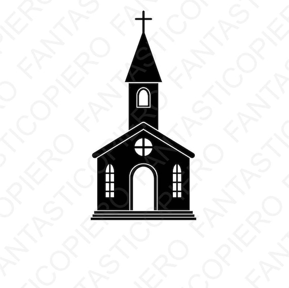 Church Svg Files For Silhouette Cameo And Cricut Church Etsy