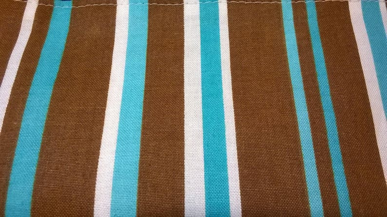 Camo Stripe Tote wTaupe Upholstery Bottom