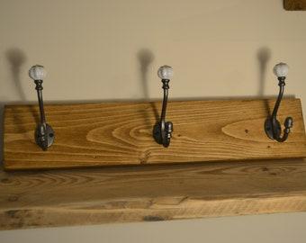 Wooden, Shabby Chic Coat Rack