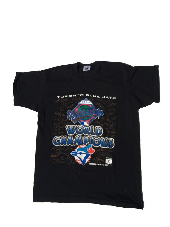 Blue Jays World Champions Baseball Tshirt 1993 Vintage Size Large