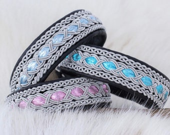 Cute jewelry for women, Soft leather bracelet, Black leather accessories, Shiny jewelry, Braided leather bracelets for women, Girls gift