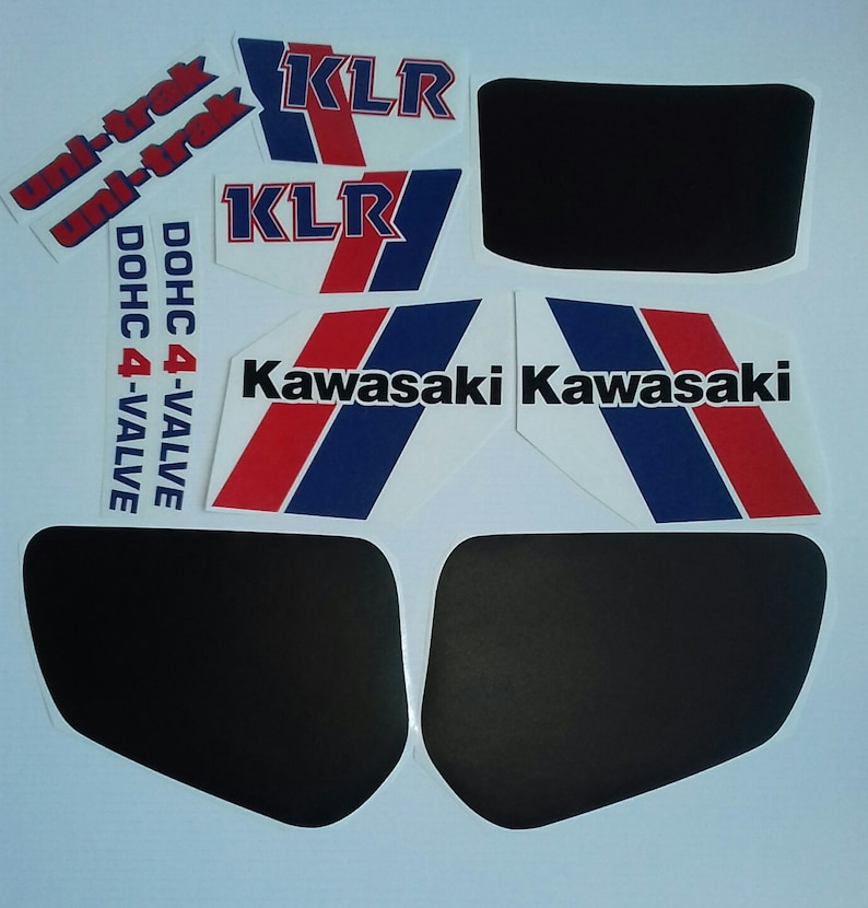 KAWASAKI KLR600 KLR 600 stickers decals aufkleber autocollant pegatinas