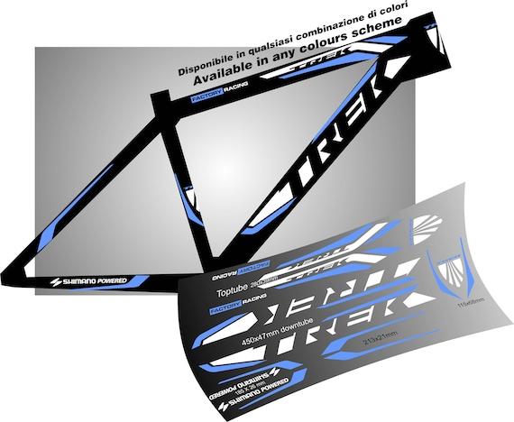 Long TREK Bicycle Cycling Sticker Decal