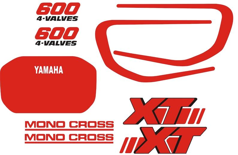 Yamaha Xt600 2kf Aufkleber Aufkleber Sticker Autocollant Pegatinas Xt 600