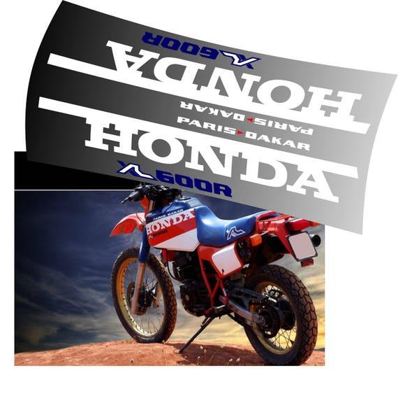 Items Similar To Honda Xl600 Paris Dakar Tank Decals