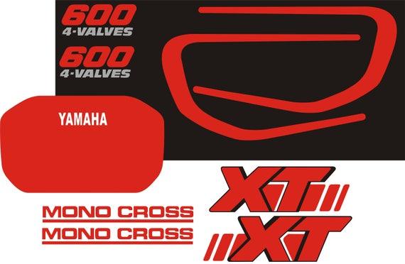 Yamaha Xt600 2kf Decals Stickers Aufkleber Autocollant Pegatinas Xt 600