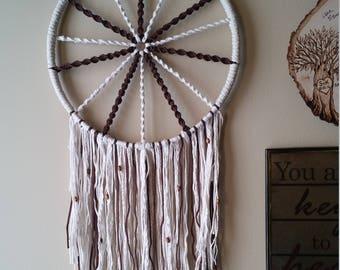 Wagon Wheel Macrame Dream Catcher