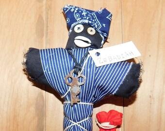 Zebadiah Louisiana Creole Doll