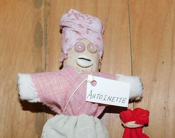 Antoinette: Louisiana Creole Doll