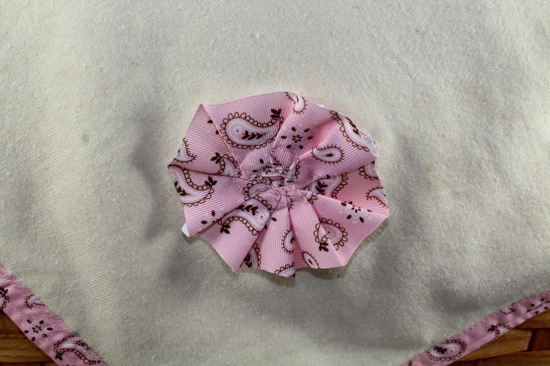 Pink Lined Hemp Baby Blankie