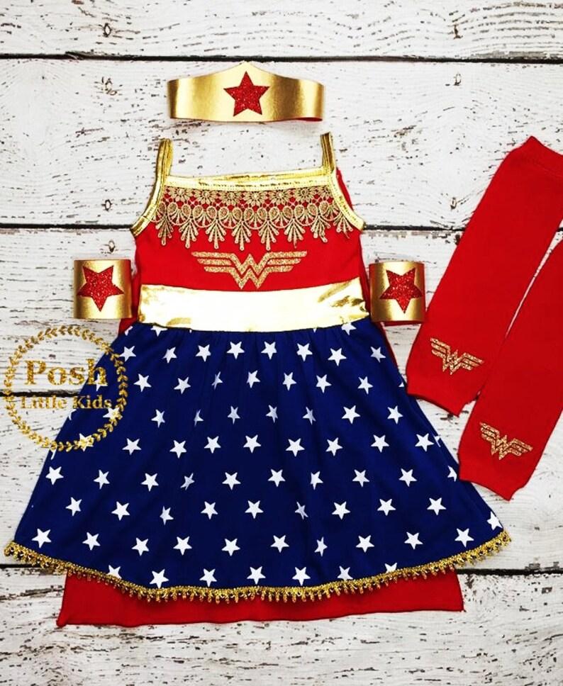 Wonder Women Birthday girl outfit,Wonder Women costume Super Hero set,Super Hero costume,Wonder Women Halloween outfit,Wonder Women dress
