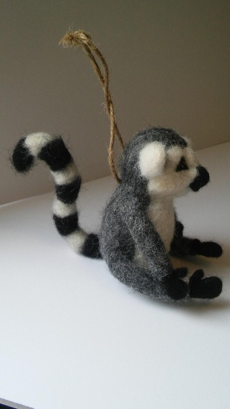 Kermit Ring-Tailed Lemur