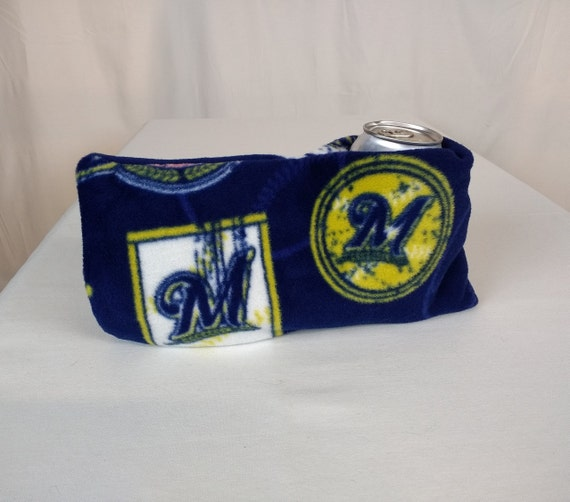 Remarkable Milwaukee Brewers Baseball Drink Mitt Tailgate Party Accessory Baseball Fan Ts Camping Gear Handmade In Usa And Ready To Ship Gmtry Best Dining Table And Chair Ideas Images Gmtryco
