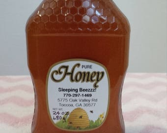 All Natural Sourwood Honey  Limited Supply  24 oz